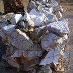 Πέτρες λευκο-κόκκινες
