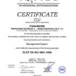 IQNet ISO 9001 certificate